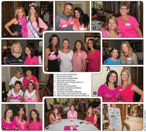 A kick-off party for Making Strides Against Breast Cancer